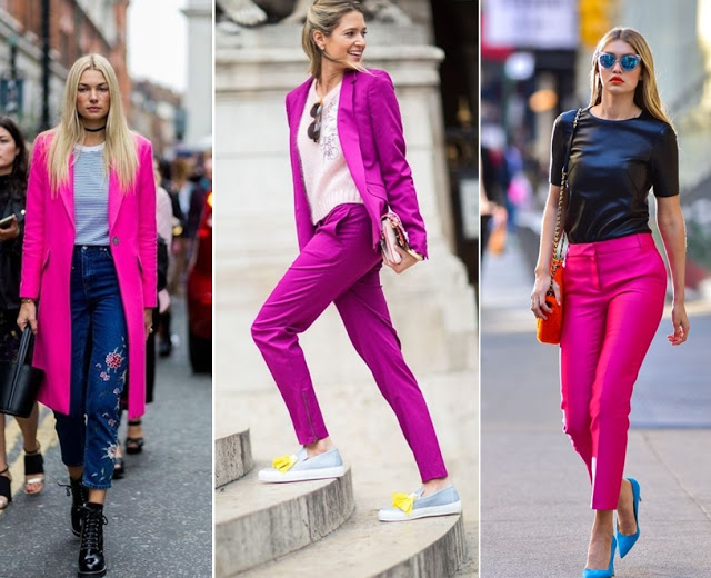 tendencias de moda primavera verão 2018 - look pink
