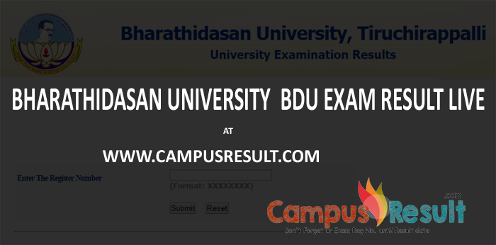 bdu result 2016, bdu April 2016-2017 result, bdu revaluation result, bdu m phil result, bdu b.com result, bdu science result, bdu arts result 2016,