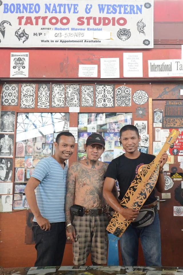 Tattoo; Keunikan Masyarakat Iban