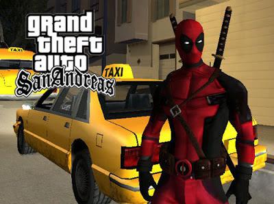 DeadPool Mod for GTA San Andreas Download