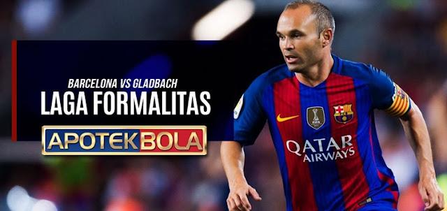 Prediksi Pertandingan Barcelona vs Gladbach 7 Desember 2016