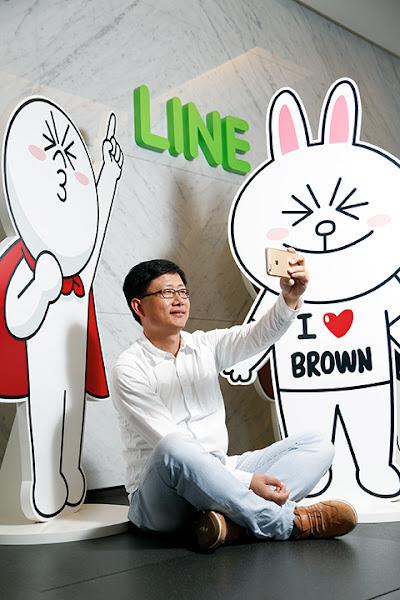 LINE台灣分公司總經理陶韻智