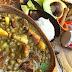 La comida del mediodía: Sancocho, aguacate y un chin de arroz