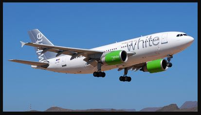 Airbus A310-300 White Airways Fly-green - Recolor by - MrRawlings - Portugal