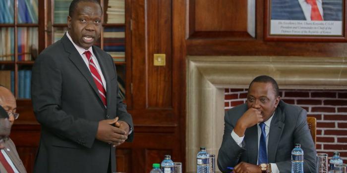 DP Ruto Reduced To Spectator As Uhuru Makes Matiang'i More Powerful