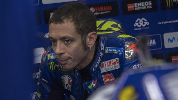 Bocoran dari Rossi: Livery Motor Baru Yamaha Seperti Inter Milan