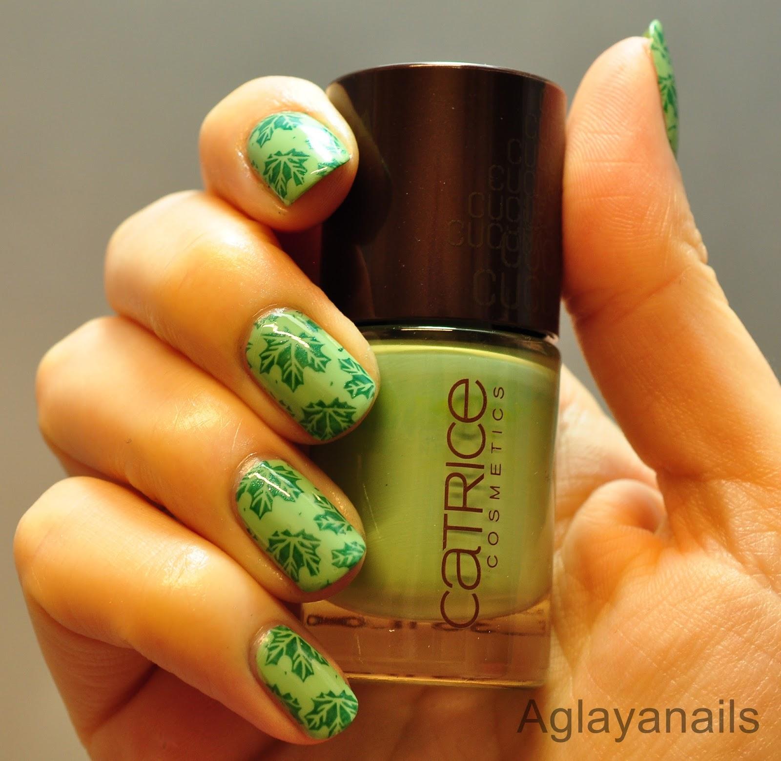 Aglayanails 40 Great Nail Art Ideas Mint Green