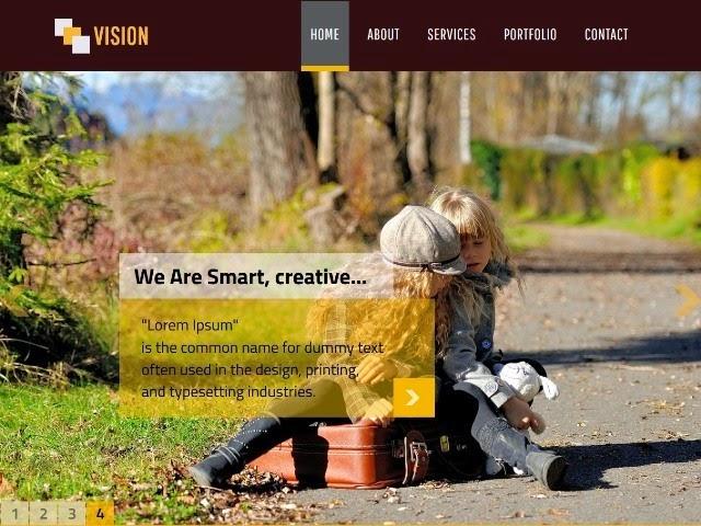 Vision - Personal Portfolio Template