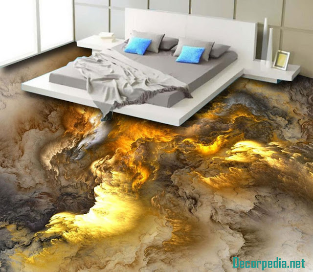 3D epoxy flooring designs and 3d floor art murals