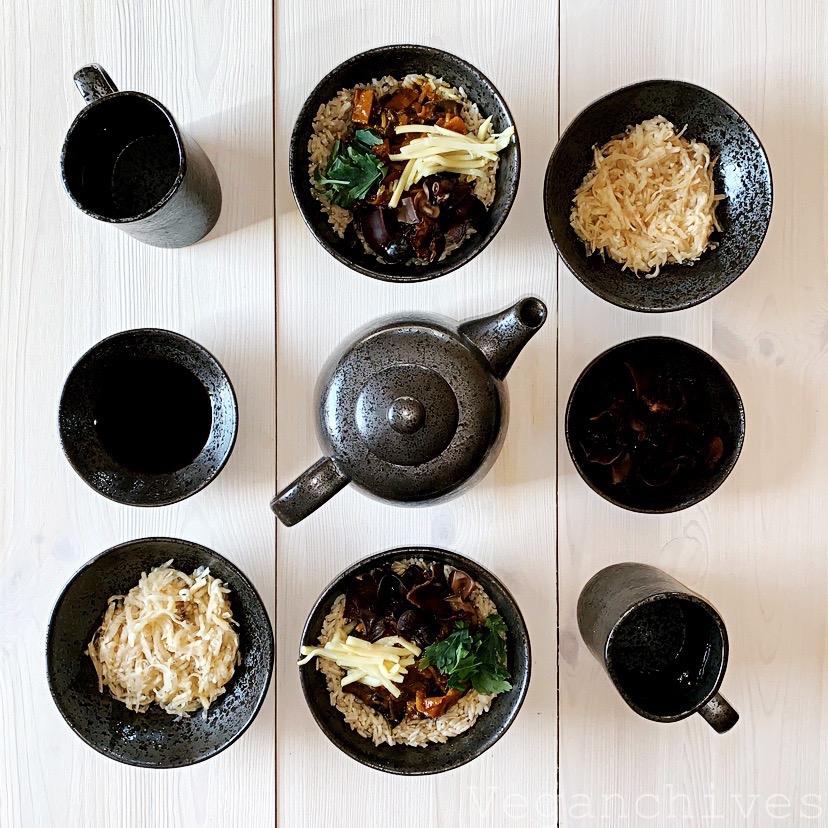 Curry z bezmięsnym mięsnym