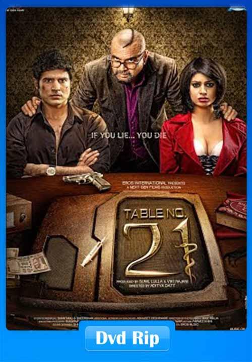 Table No 21 2013 Hindi HEVC DvDrip 100MB x265 Poster