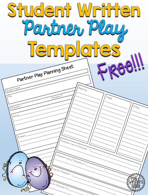 FREE! Teach your 1st 2nd or 3rd grade students how to write their own short reader's theater play scripts! All templates included to ensure that your class play will be fun and successful!