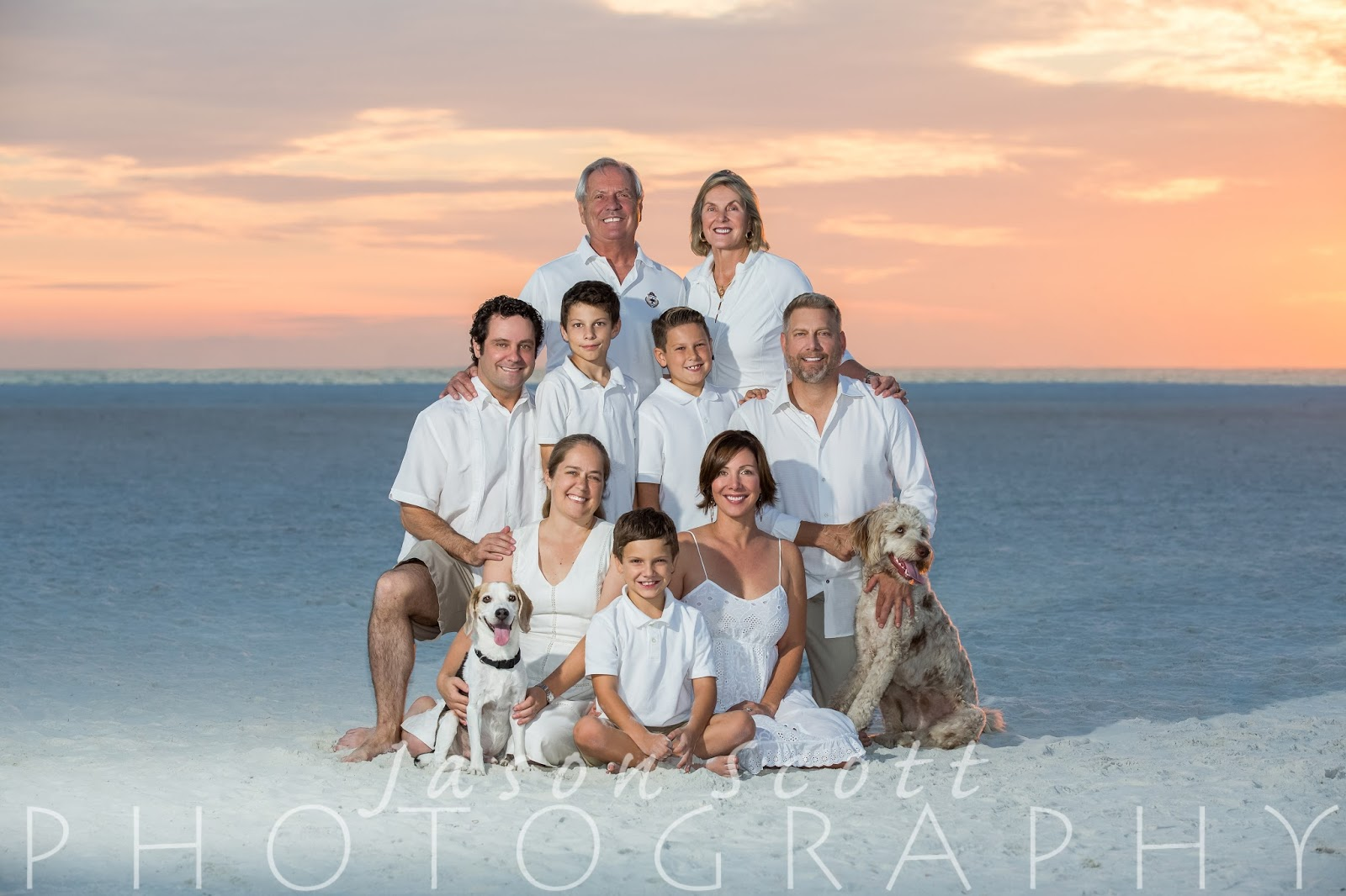 Siesta Key Beach Portraits Maiolo Dawes Families Jason Scott Photography