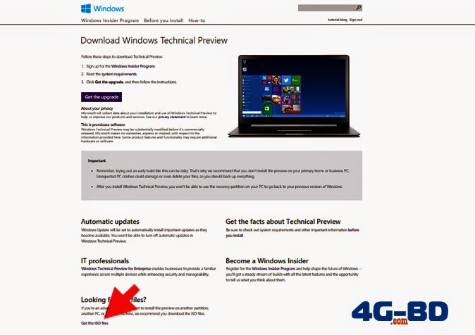 How to Download Microsoft Windows 10  following a positive step to