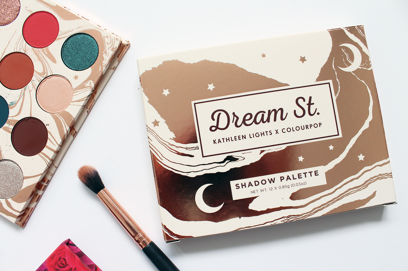 COLOURPOP | Kathleen Lights Dream St Pressed Shadow Palette - Review + Swatches - CassandraMyee