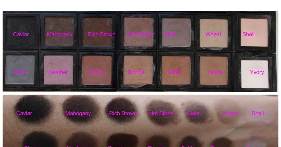 Beautiful Me Plus You Bobbi Brown S Matte Eyeshadows