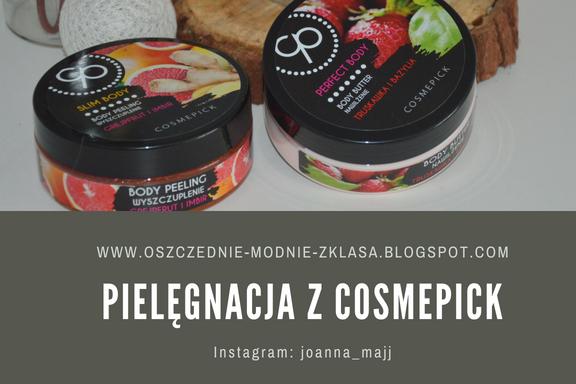 Pielęgnacja z Cosmepick - peeling oraz balsam do ciała