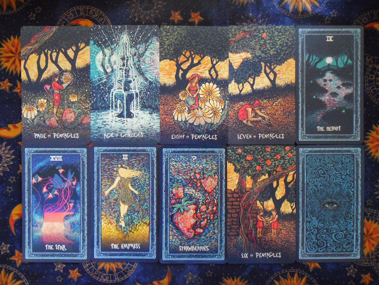Samhain Moon: PRISMA VISIONS TAROT REVIEW