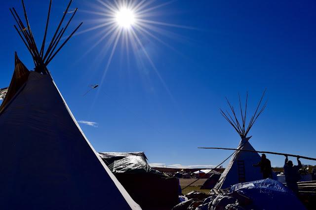 Returning to the Oceti Sakowin Tipi in Winter #NativeJournalism #StandingRock #NoDAPL