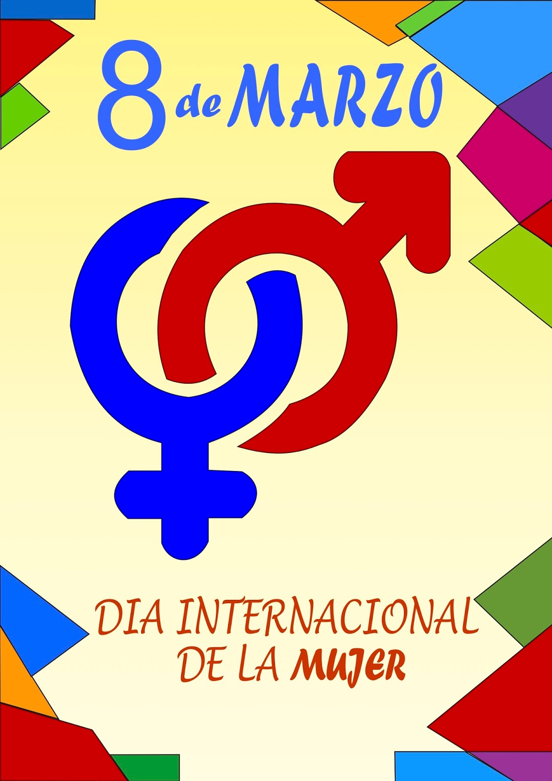 Carteles Dia De La Mujer Trabajadora Mayalen Piqueras