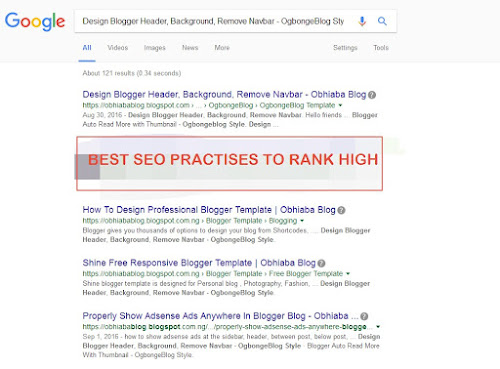 SEO Practices To Get Your Blog On Search Engines