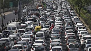 دہلی ۔ جے پور قومی شاہراہ پر بارہ گھنٹوں سے زائد ٹرایفک جمام