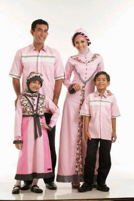 20+ Model Baju Muslim Keluarga Seragam Tanah Abang 2017, Eksklusif