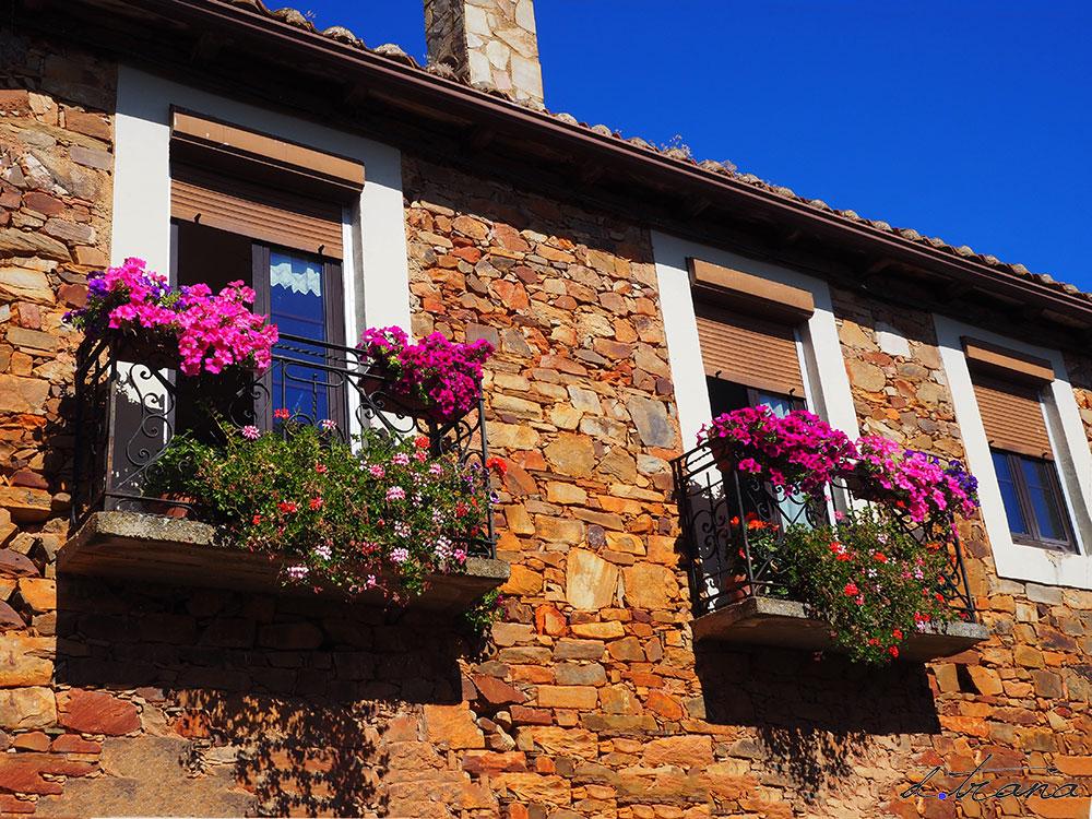 ventana balcón castrillo de los polvazares