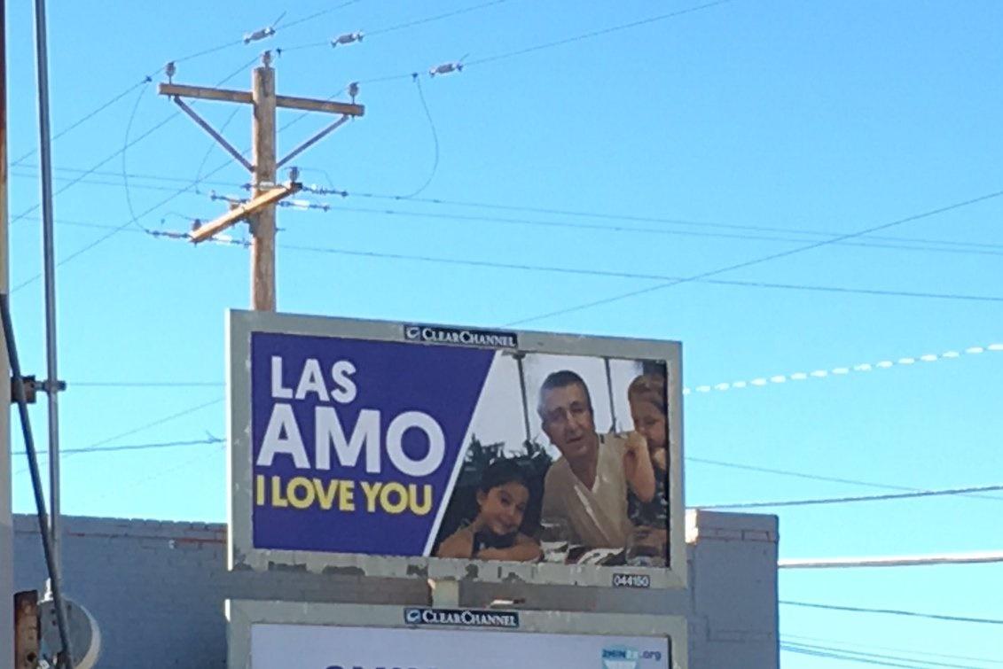 Una calle de El Paso TX.