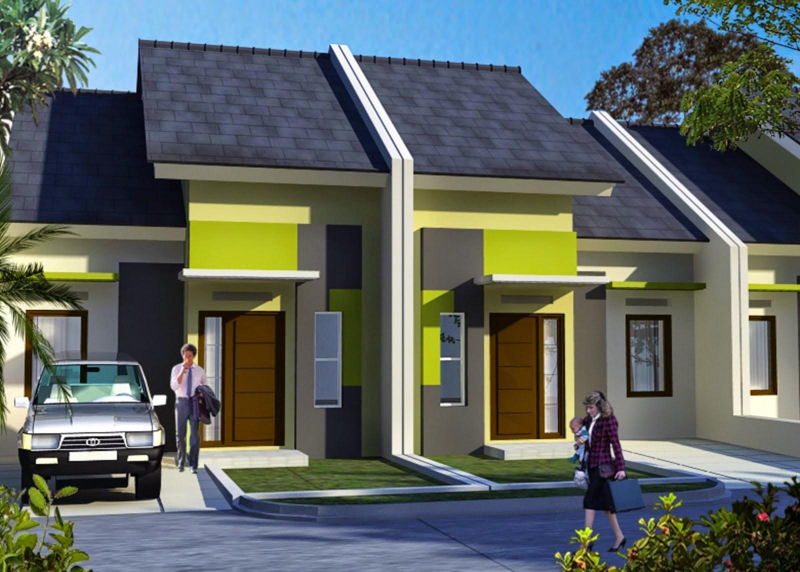 Model Desain Rumah Minimalis Modern Type 36 1 Lantai ...