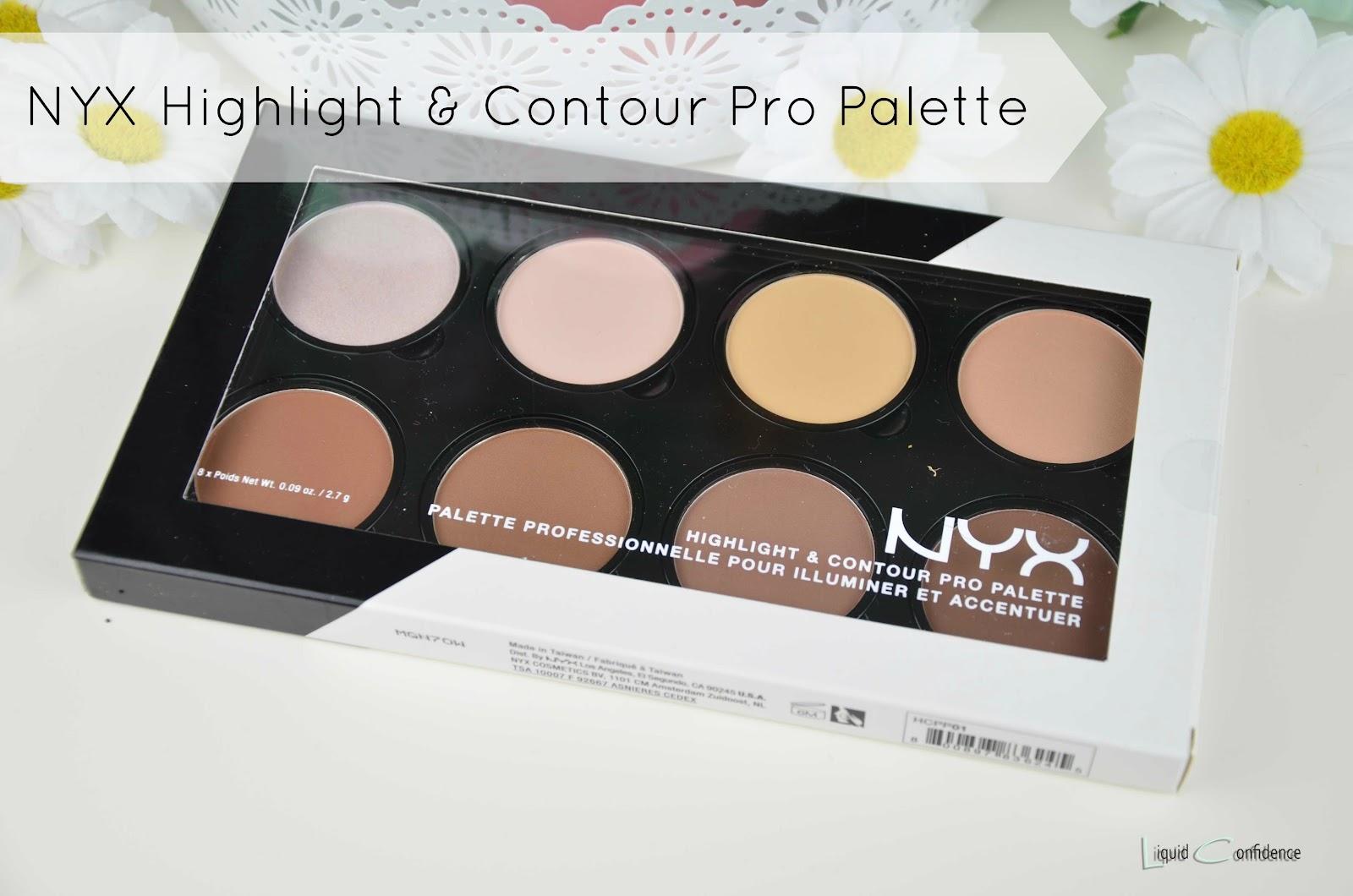 review nyx highlight contour pro palette liquid. Black Bedroom Furniture Sets. Home Design Ideas