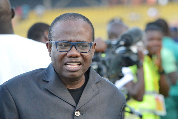 Anas demanded $150k through third party to drop videos - Kwesi Nyantakyi