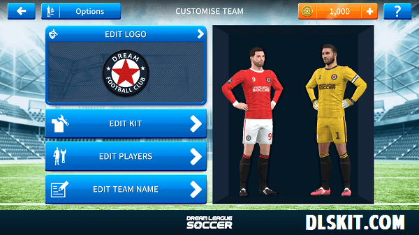 Dream League Soccer Kits And Logo URL