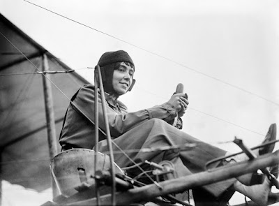 Marie Marvingt primera mujer piloto en combate
