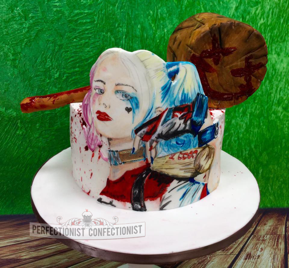 The Perfectionist Confectionist Ruby Rose Harley Quinn Birthday Cake