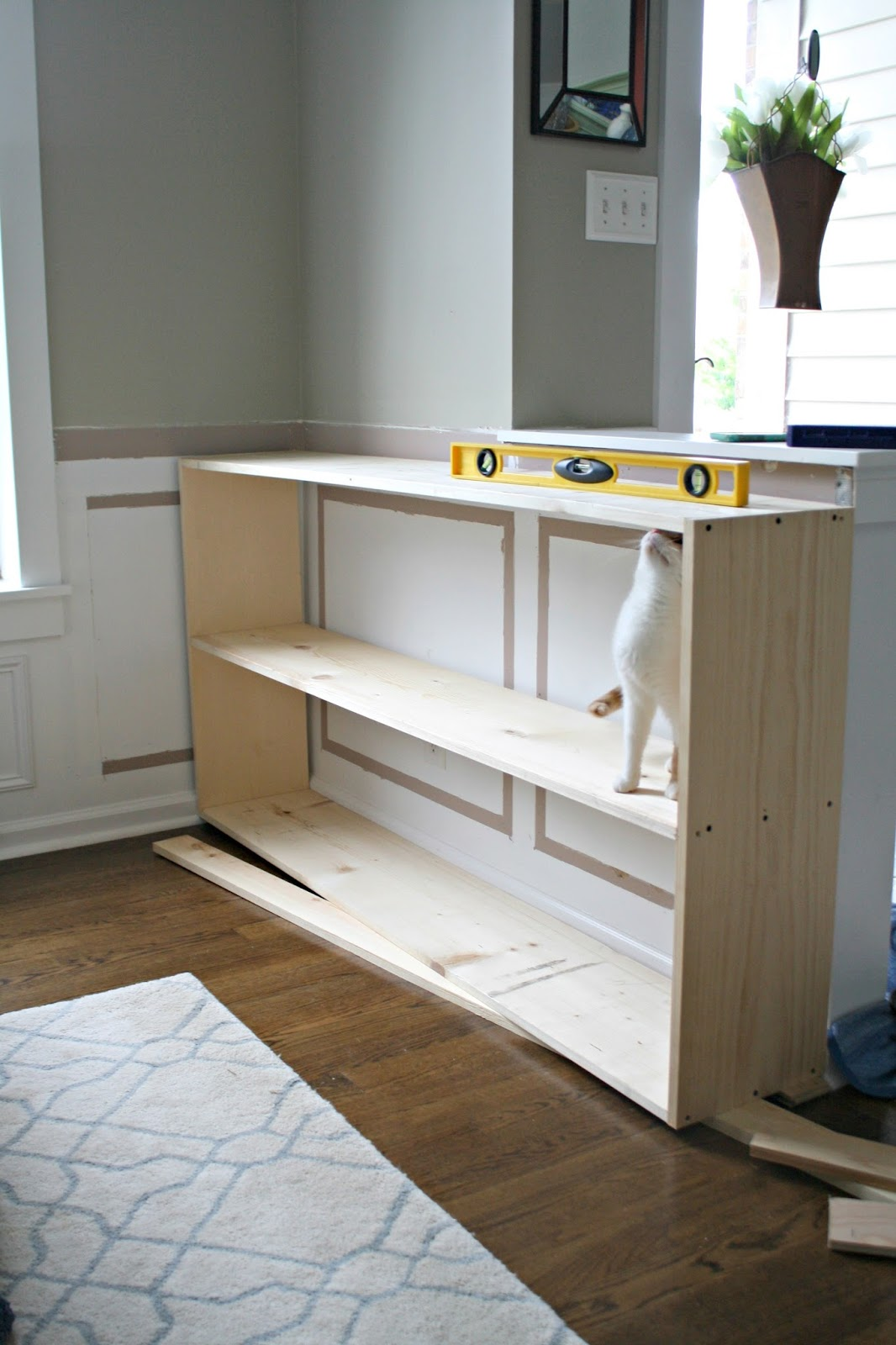 half wall cut the a bottom drawer vase with as in part functions mount shelf