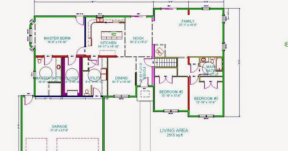 3-Bedroom Wheelchair Accessible House Plan: Work In