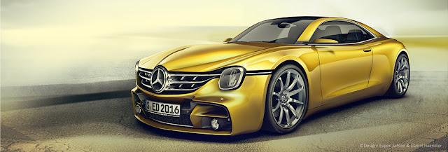 2017 Mercedes-Benz 350 SE Design Study - #Mercedes #conceptcar #car