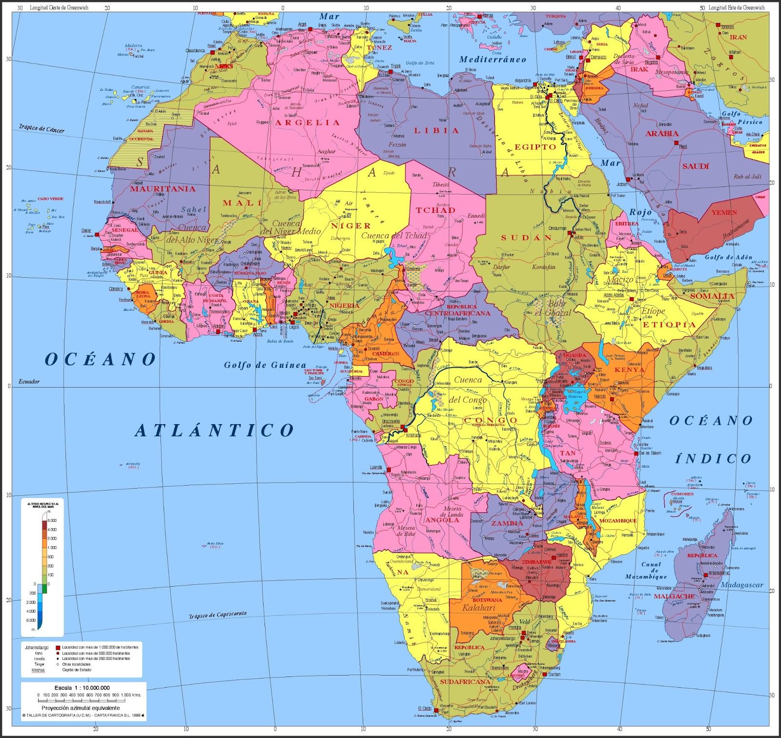 África, Geografia e História da África