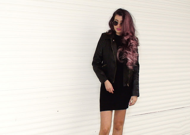 leather jacket outfit pinterest