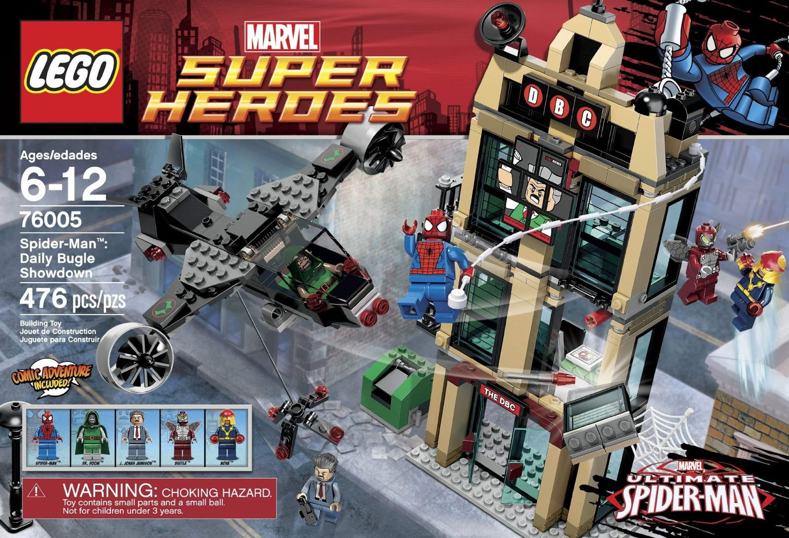 Onetwobrick Com Set Database Lego 76005 Spiderman Daily