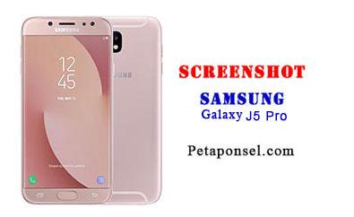 Bagaimana Cara Mengambil Screenshot di Samsung J5 Pro (2017)?