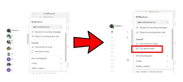 Google Talk Chat Like Look in Hangouts