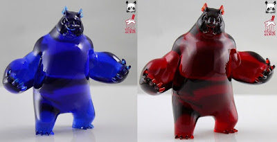 Panda King III Mini Resin Figure by Woes Martin x Silent Stage Gallery