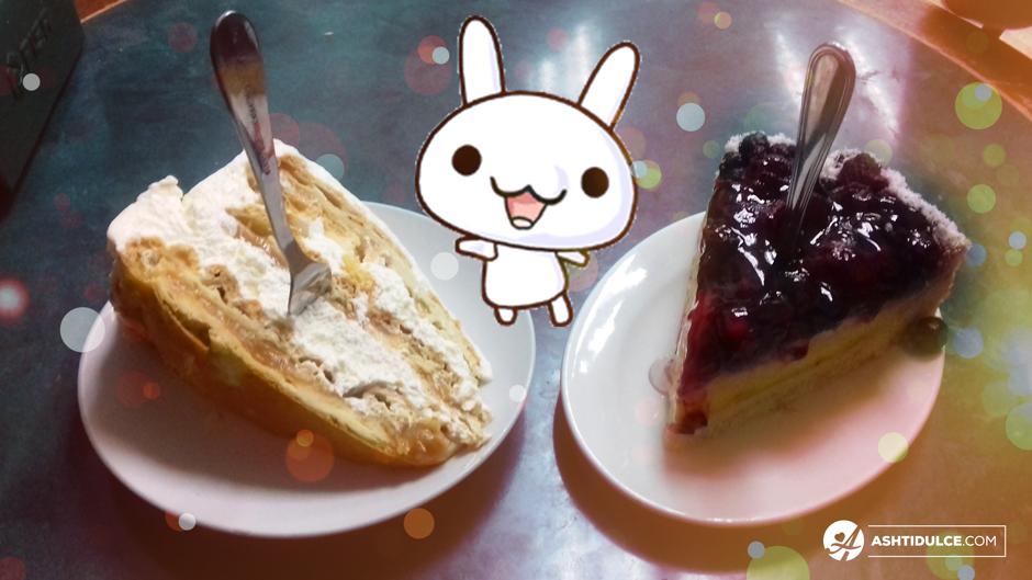 Torta Pompadour de plátano