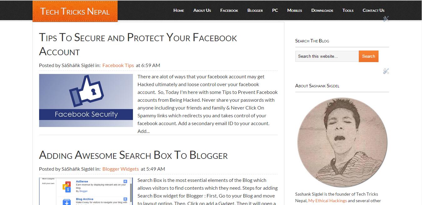 Eleven40 Blogger Template Free Download Seo Optimized Tech