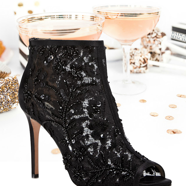 Badgley Mischka Moryra Beaded Cage Shoe Review By Barbies Beauty Bits