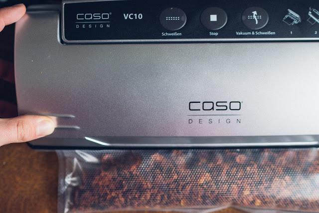 Gear of the Week #GOTW KW 08  CASO VC10 Vakuumierer  Vakuumiergerät  Lebensmittel vakuumieren  Trekkingnahrung haltbar machen 04