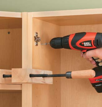 kitchen and bathroom renovation how to install wall cabinets 02. Black Bedroom Furniture Sets. Home Design Ideas