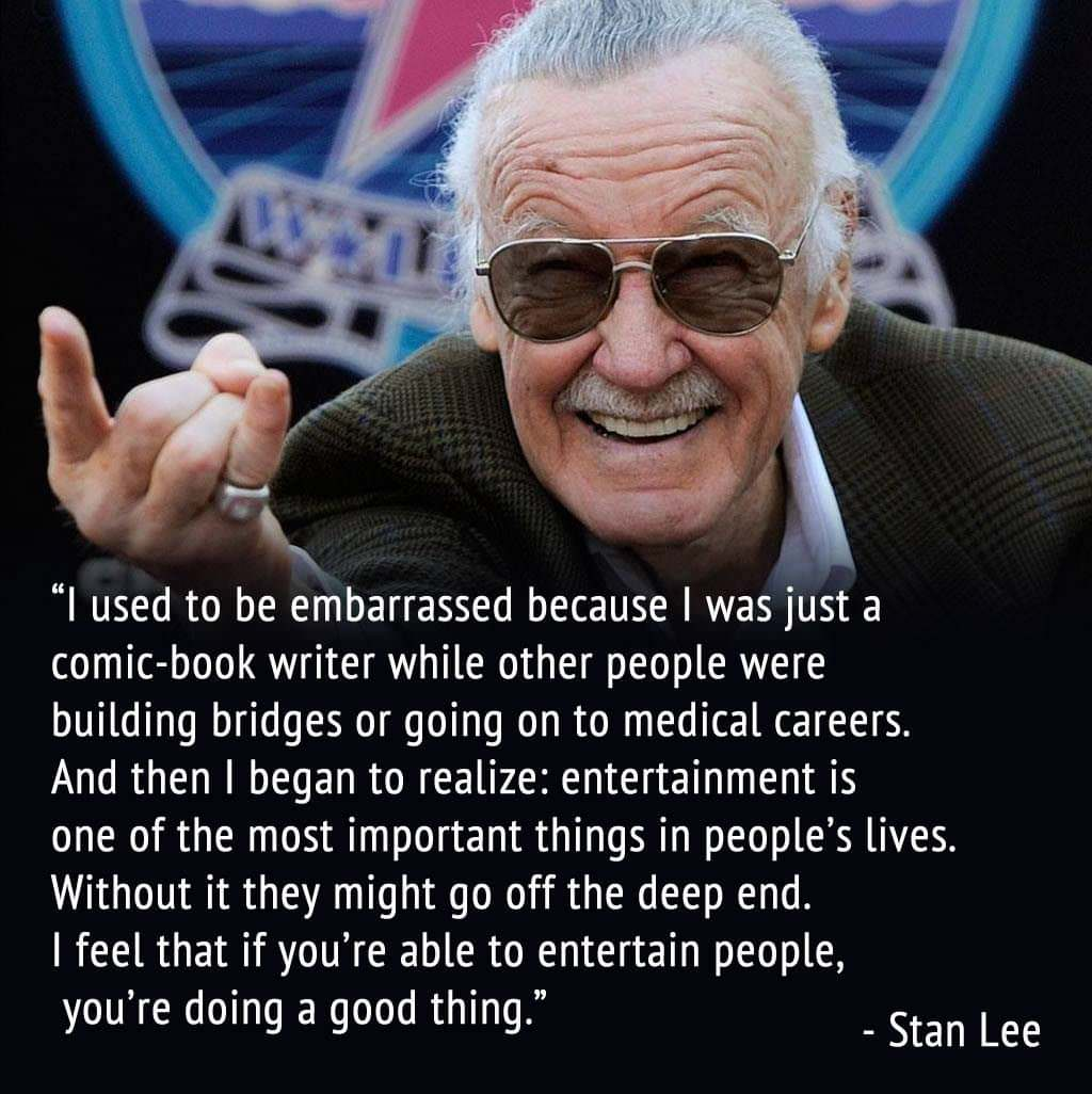 35 Powerful Quotes From Stan Lee, The Legend Behind Marvel Comics Who Died At 95